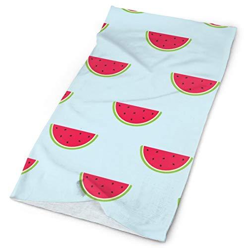 Pengyong Wassermelonen-Schnittmuster, Unisex, modisch, schnelltrocknend, Mikrofaser, Kopfschmuck, Outdoor, magischer Schal, Halstuch, Kapuzenschal, super weicher Griff