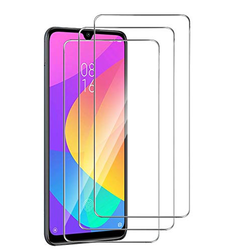 XinYue - 3 Pack, Protector de Pantalla Xiaomi Mi A3, [Dureza 9H] Anti-Scratch Anti-Burbuja Fácil de Instalar, Cristal Templado Premium para Xiaomi Mi A3