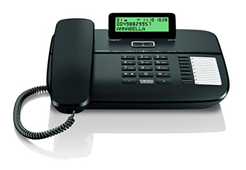 Gigaset DA710 - Teléfono Fijo con Cable Manos Libres, Pantalla de Posición...