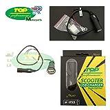 PRESA CONNETTORE CARICA BATTERIE USB 12 24V COMPATIBILE CON KTM 690 SUPERMOTO MOTO E SCOOTER
