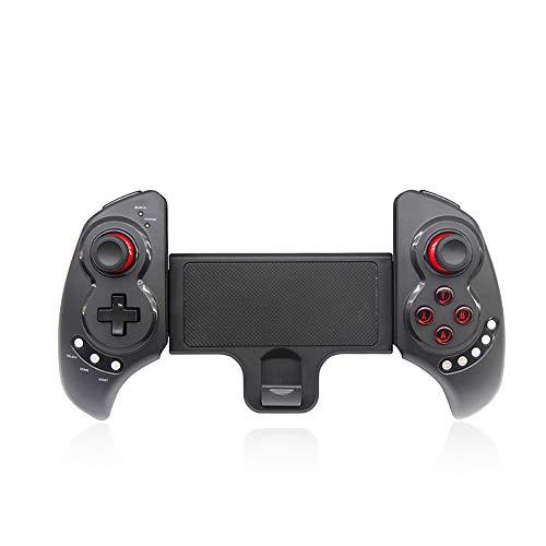 Game Controller, Draadloze Bluetooth Gamepad kan continu worden gebruikt voor 20H, Gamepad Bracket kan ondersteuning 5-10 Inch mobiele telefoon of tablet