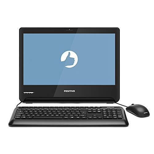 Computador All In One Positivo 1701293 Master A2100 Core I3-7100U 4GB 500GB 18,5'' FreeDos Preto