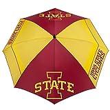 "Team Effort NCAA Iowa State Cyclones 62"" Windsheer Lite Golf Umbrella62 Windsheer Lite Golf Umbrella, Multi, NA"