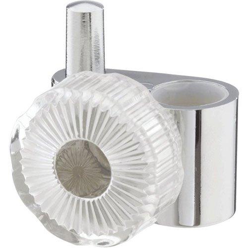 Haceka accessoires acryl/chroom tapenschuiver, kunststof, 7,5 x 4,6 cm