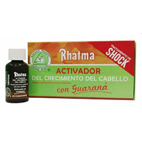 Rhatma, Producto para la caída del cabello (Guaraná) - 4 unidades