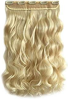 high simulation easy comb fashion blond Curly Wig