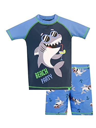 Harry Bear Bañador para Niño Shark Azul 2-3 Años