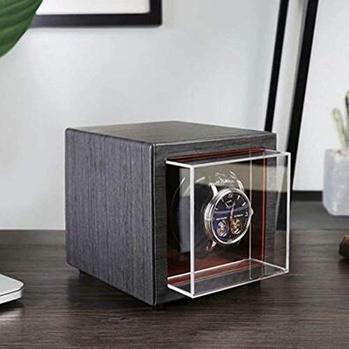 ZCYXQR Enrollador de Reloj automático, Mini Agitador mecánico Giratorio Caja de Instrumentos de balancín (Color: B)