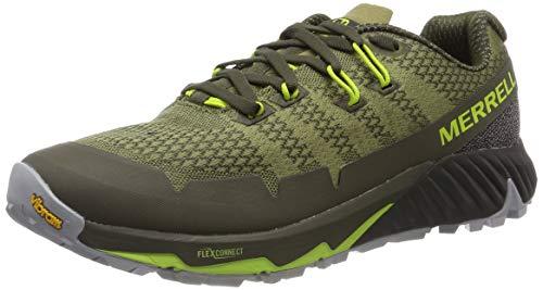 Merrell Agility Peak Flex 3, Zapatillas de Running para Asfalto para Hombre, Verde (Olive), 46 EU