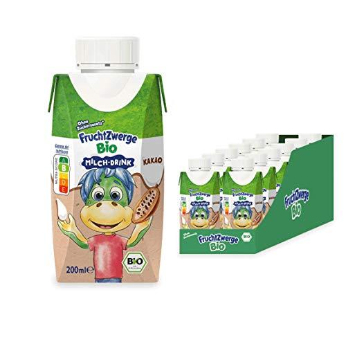 Fruchtzwerge Bio Milch-Drink Kakao, 12er Pack