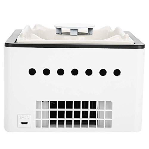 Alysays Cenicero, purificador de Aire, Carga Multifuncional USB fácil de Limpiar para el hogar