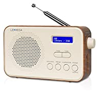 DAB/DAB+/FM Digital Radio – Stylish DAB / DAB+ digital and FM radio with 40 total radio pre-sets. With the simple set up you can begin listening to a wide variety of stations on this stylish unit. Mains Powered and Portable – The LCD display makes it...