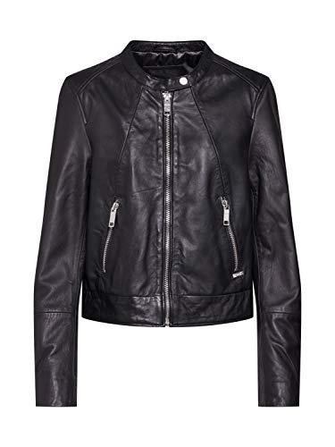 Maze Damen Bikerjacke Mit Coolen Zippern Grenada Black S