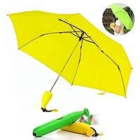 ☀☀ Wirkung: Unser Bananenschirm ist eine Art dickes Regenschirmtuch, das die Funktionen Regenschutz, Windschutz und Sonnenschutz hat. ☀☀Kann bei Wetter und Sonnenschein verwendet werden: Der Bananenschirm kann an sonnigen und regnerischen Tagen verwe...