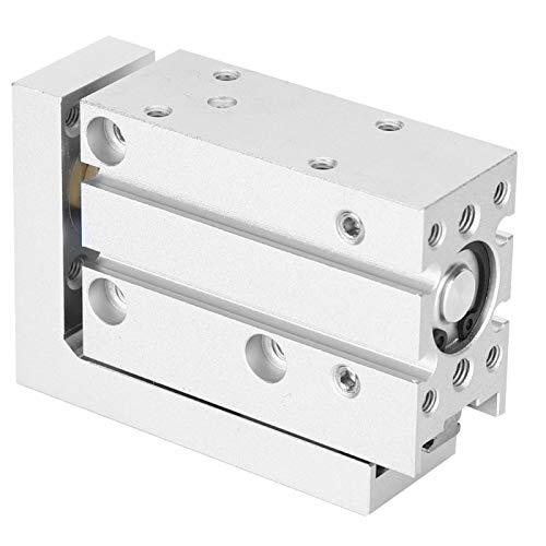 Cilindro de guía Cilindro de aire neumático firme 0.06MPa Cilindro de tabla de diapositivas de acción doble para la industria (MXH16-50)