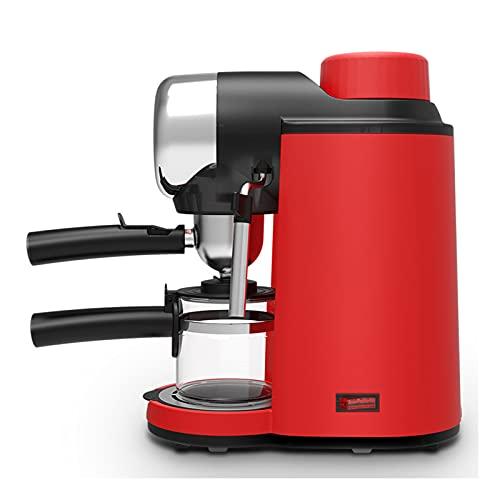Cafetera con Brazo para Espumar leche, Mini Vaporizador de leche Mini Máquina de Café Semiautomática para Capuchino, Espresso y...