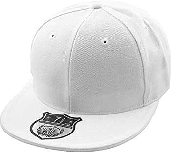 KBETHOS KNW-2364 WHT  8  The Real Original Fitted Flat-Bill Hats True-Fit 9 Sizes & 20 Colors