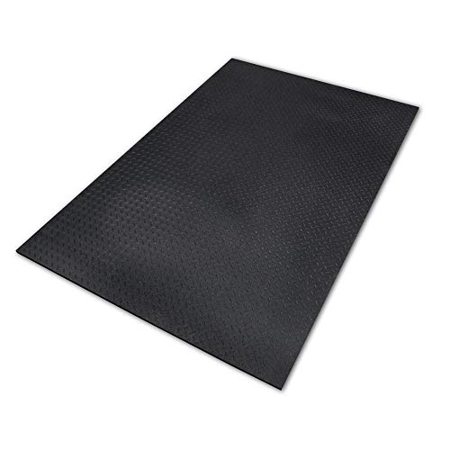 Equine Stall Mat, Bed Mat, Barn Flooring, Kennel Floors – Heavy Duty Rubber Mat 4' x 6' x 1/2'