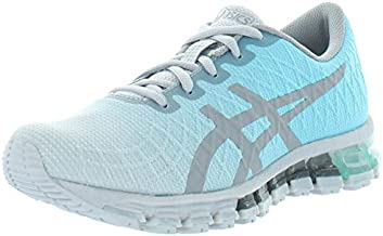 ASICS Women's Gel-Quantum 180 4 Running Shoes, 8.5M, ICE Mint/Stone Grey