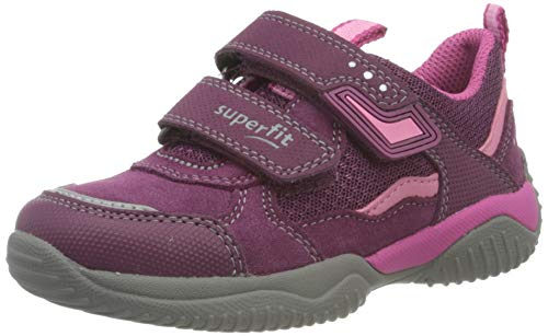 Superfit Mädchen STORM Gore-Tex Sneaker, Rot (ROT/ROSA 5000), 30 EU