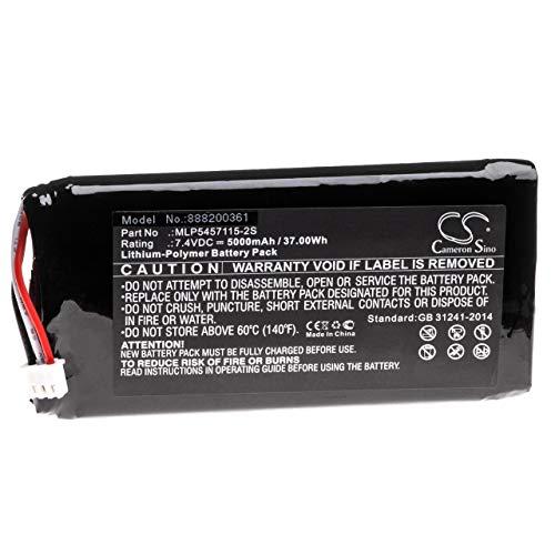 vhbw batería Compatible con Infinity One Premium Altavoz Altavoces (5000mAh, 7.4V, Litio...
