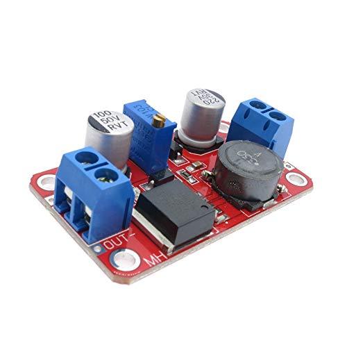 youyu6-2o521 Módulo de Transformador de Voltaje 5A DC-DC Paso Boost Arriba un módulo convertidor de Potencia voltios 3.3V-35V a 5V 6V 9V 12V 24V Regulador de Salida Ajustable Módulo electrónic