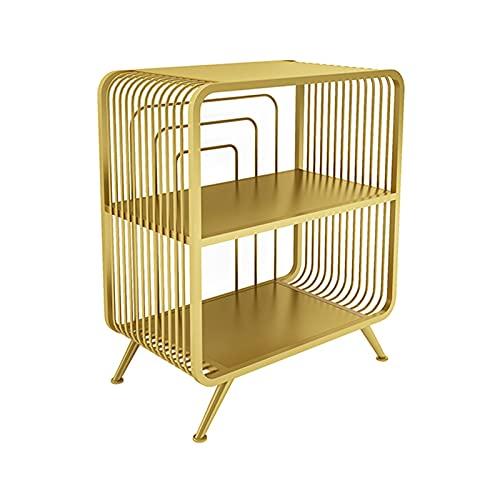 Soporte de Impresora Soporte de impresora, 2 niveles Metal Organizer para el hogar para organizador espacial como estante de almacenamiento, con estante de libros de escritorio de almacenamiento Sopo