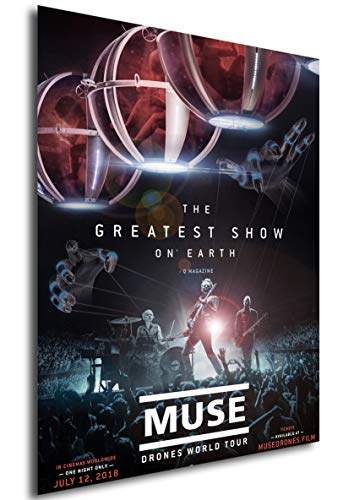 Instabuy Poster - Locandina - Muse - Drones World Tour Manifesto 70x50
