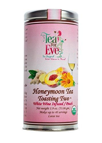 Tea For Eve-Toasting Two Honeymoon Tea, White Wine Infused