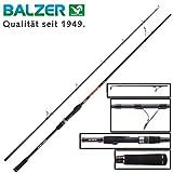 Balzer Shirasu Big Bait 2,42m 85-160g - Spinnrute für große Gummifische & Swimbaits, Hechtrute zum Spinnfischen, Bigbait Rute
