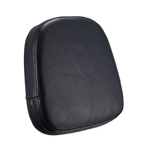 Triclicks PU Motorcycle Sissy Bar Back Seat Backrest Cushion Pad For Harley Chopper