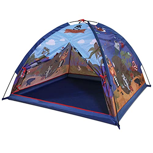 Zoetime Kids Play Tent, Pirate-Themed Children Playhouse for Indoor and Outdoor Fun, Imaginative...