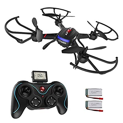 Holy Stone Drone with HD Camera F181C RC Quadcopter RTF 4 Channel 2.4GHz 6-Gyro with Altitude Hold Function,Headless Mode and One Key Return Home, Color Black