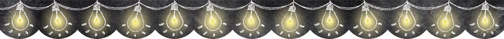 Creative Teaching Press Light Bulbs Dallas Mall Max 41% OFF Yellow 0231 Black Borders