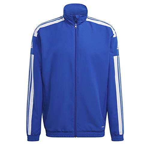 adidas GP6445 SQ21 PRE JKT Jacket Mens Team Royal Blue White M