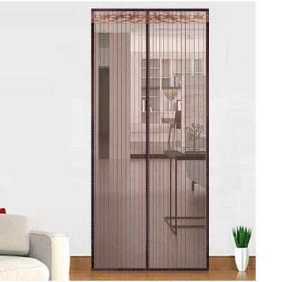 QWEAS 6 Größe Magnetic Gittertür, Magnet-Vorhang-Netz Anti Insektennetz Fliegengitter Moskitoschutznetz für Türen Fenster