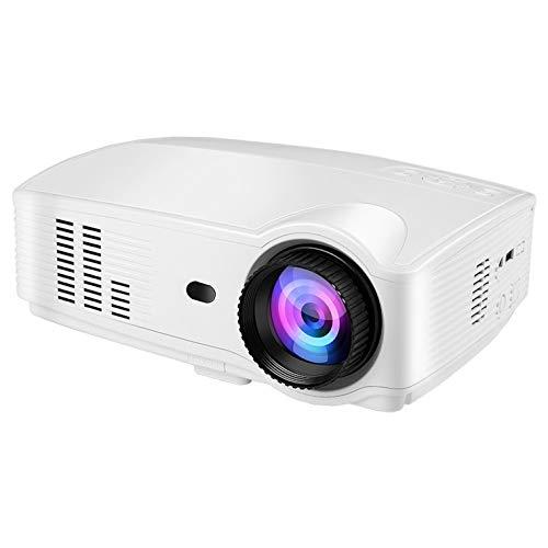 Beamer Full HD 1080p, seelumen (2020 version) Projektoren 3200 Lumen-Projektor LED LCD 1920 x 1080 max, 2x HDMI, VGA, 2x USB, für PS4, Xbox One, Switch, PC (weiß)