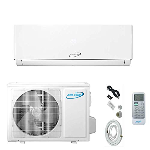 18000 BTU Mini Split Air Conditioner – Ductless AC/Heating System - 1.5 Ton Pre-Charged Inverter Heat Pump – 18 SEER - 12' Lineset & Wiring - 100% Ready to Install - USA Parts& Support