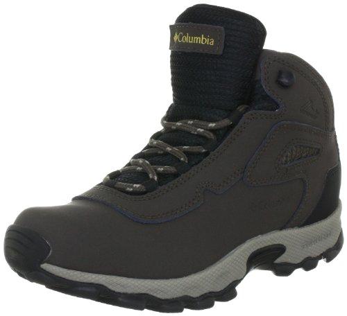 Columbia Youth Newton, Chaussures de randonnée Mixte Enfant - Marron - Braun (Cordovan, Sauterne 231), 34 EU