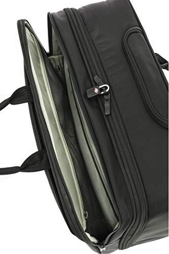 "SAMSONITE Marvas 38 Ltrs Black Laptop Roller Case (SAM MARVAS Rolling Tote 16.4""-BLK)"