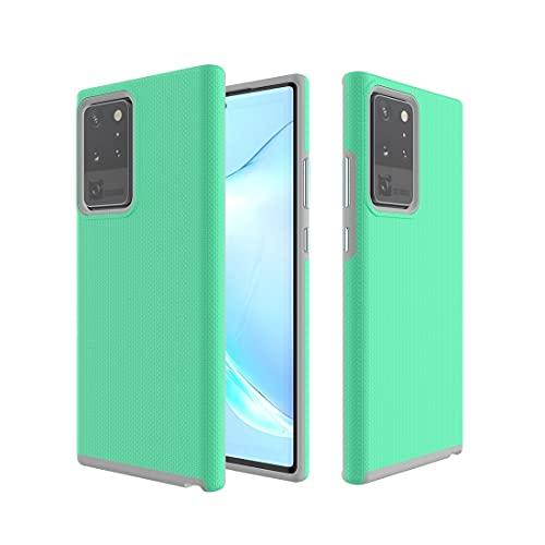 BAIYUNLONG Funda Protectora, for Samsung Galaxy Note 20 Ultra Anti-Slip TPU + PC Funda Protectora (Color : Green)
