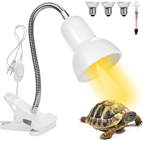 Altobooc Adjustable Basking Spot Heat Lamp for Animal Enclosures Aquariums w 360 Rotatable Arm product image