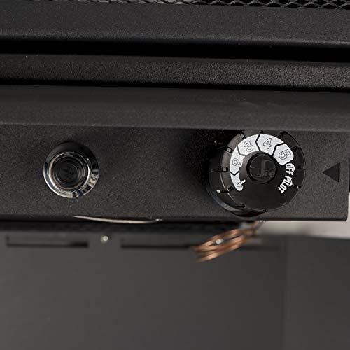 Pleasant Hearth VFS2-PH30DT 30,000 BTU 32-Inch Intermediate Gas vent free stove, Black