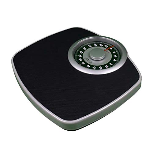 Digital Scale,Mechanical Bathroom Scales -Weighing Scales Body,with Mechanical Weight Dial,Sturdy Platform, High Capacity Kg, No Buttons/Batteries