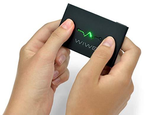 WIWE EKG Messgerät schwarz - mobiler Herzmonitor