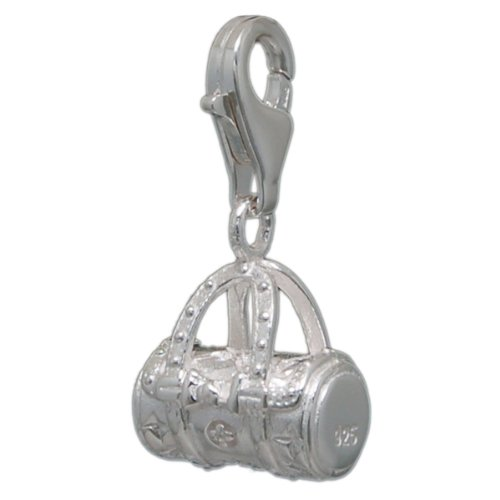 Melina Damen-Charm Anhänger Designertasche 925 Sterling Silber 1800201