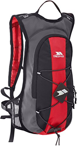 Trespass Mirror Sac à Dos hydratation 15 L, Rouge, Taille Unique