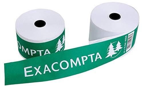 EXACOMPTA Kassenrollen, 44 mm x 42 m x 12 mm, wei VE = 10