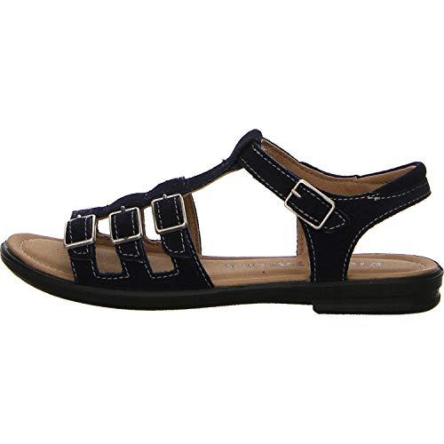 Ricosta Mädchen Sandalen Line-S Sandale blau Gr. 37