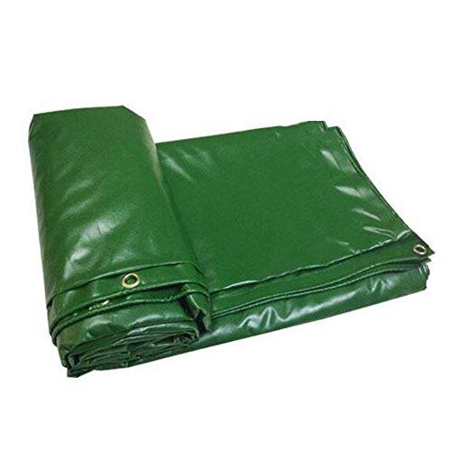 Zfggd Bâche résistante avec la bâche d'oeillets imperméable et imperméable (Couleur : Green, Taille : 4 x5m)